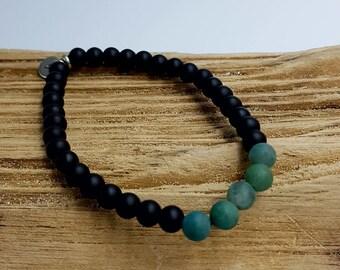 Aventurine personalize bracelet