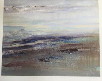 Coral Beach - a calmer space, by Diana Mackie (Fine Art Ltd Edn Print)