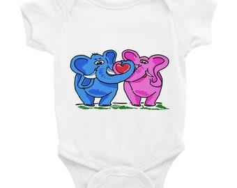 Elephant Love Bodysuit