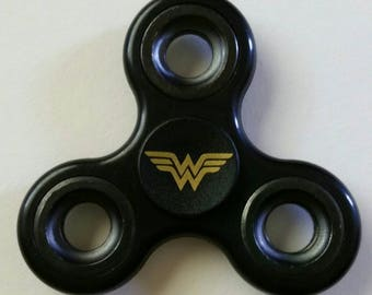 Wonder Woman Fidget Spinner/Stress-ADHD-Anti Anxiety-Focus Toy