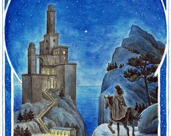 Tower of Tar-Meneldur – Art Print