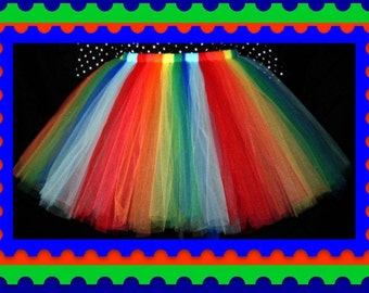 """25"""" length tutu skirt      Custom Waist Sizing, Lining or unlined, You Choose your color(s)"""