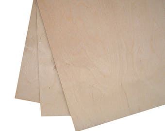High Quality Birch Plywood 600mm x 300mm (Plug Free One Side)