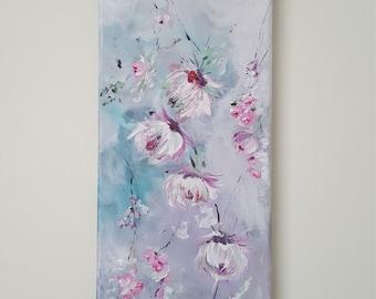 Hazy Bloom - Original acrylic hand painting on canvas
