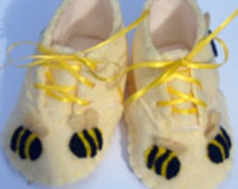 Baby Bumble Bee Booties / Shoes