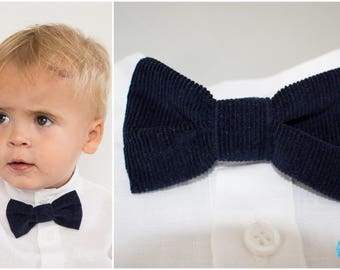 baby boy bow tie toddler boy bow tie ringbearer outfit blue bow tie