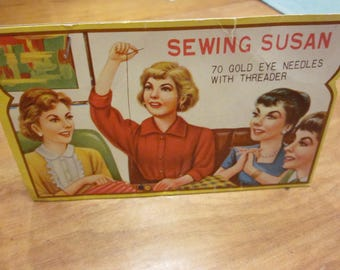 Old Sewing Card Packet / Sewing Susan