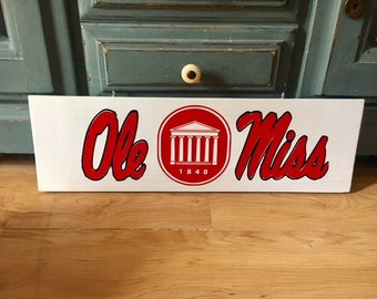 Ole Miss sign