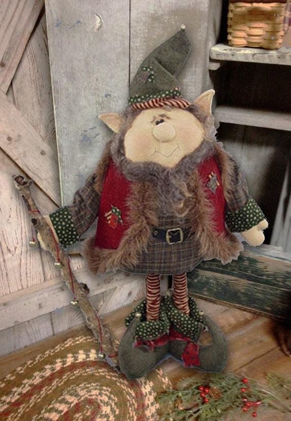 "Pattern: Jangles - 22"" Christmas Elf"
