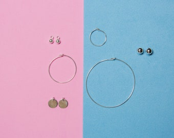 #Hop Earrings! A circle in silver