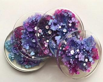 Lavender Coaster - Set of 4