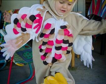 Owl Costume for Children Custom Made