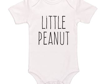 Little Peanut Bodysuit, Cute Funny Baby Clothes For Boys And Girls