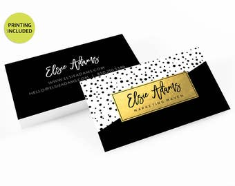Hair stylist business cards etsy colourmoves Images