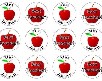 Thank You Teacher Edible Toppers, Thank You Gift, Thank You Cake Topper, Teacher Cake Topper, Cupcake Toppers For Teacher, Teacher Gift