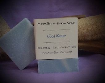 Cool Water Men's Soap - Natural and Handmade