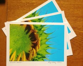 Golden Moment Photo Art Card