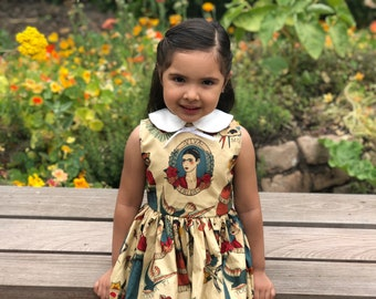 Frida vive dress