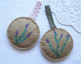 Lavender filled cupboard packet 2pcs