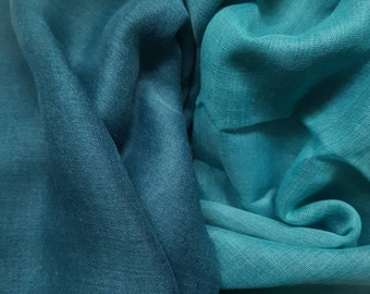Turquoise hijab, Green scarf, Ombre scarf hijab, Ombre Scarf, Blue Green scarf