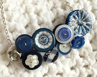 Button Necklace - Take Off Your Cool