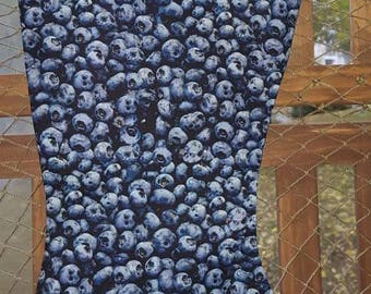 Blueberry Christmas Stocking