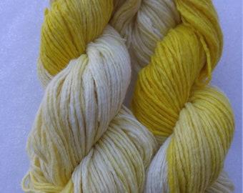 Luscious Lemon OOAK Worsted Weight Yarn