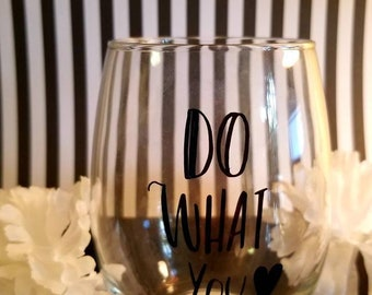 Engraved wine cups