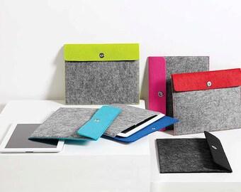 Customized Felt Tablet Sleeves/Monogrammed Tablet Sleeve/Personalized tablet sleeve/E-reader case/sleeve/