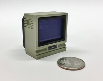 Mini Commodore 1702 monitor - 3D Printed!