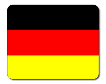 German Flag Mouse Mat Mouse Pad