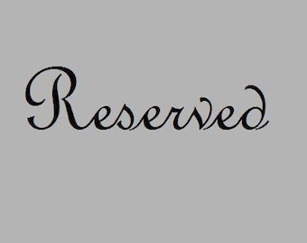 RESERVED - 20 bars of soap