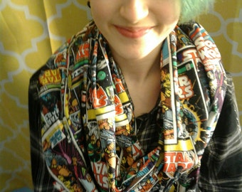 Star Wars Comic Book Infinity Scarf