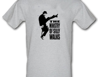 MINISTRY of Silly Walks Monty Python Retro 100% Cotton t-shirt All Sizes  Small