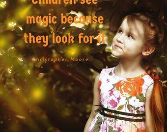 30 DFY Social Media Images - Children Quotes