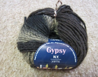 N.Y. Yarns Gypsy Yarn ID No. 38074 Color No. 2 DISCONTINUED