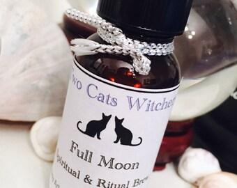 Full Moon Oil, Spell Oils, Moon Magick, Moon Ritual, Lunar Oil, Lunar Magic, Moon Goddess, Anointing Oil, Defuser Oil