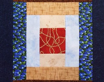 Courthouse Steps Quilt Block Pattern