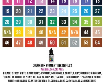 ColorBox Pigment Ink Refills