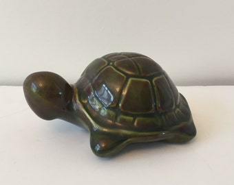 vintage ceramic turtle from 70's