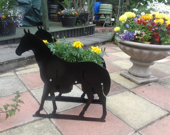 Horse Themed Garden Flowerpot Planter