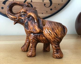 Vintage collectible elephant ashtray
