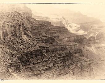 Grand Canyon #5 Sepia