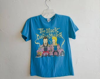 Vintage Beavis en Butthead t-shirt 1990s MTV Shirt gedragen grappig dunne zachte perfecte vriendje cadeau