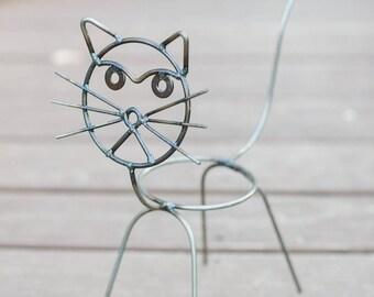 Cat Flower Pot Holder