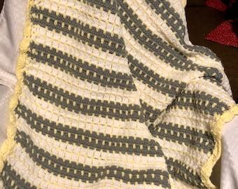 Crochet Blanket, Handmade Blanket, Crochet Throw, Baby Blanket, Handmade Baby Blanket, Crochet Baby Blanket