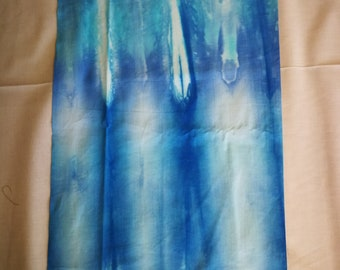 Hand Dyed Cotton - Mr Blue Sky