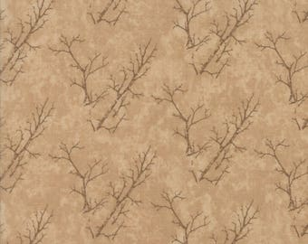 Moda COUNTRY ROAD Quilt Fabric 1/2 Yard By Holly Taylor - Sandy Tan 6665 19