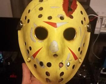 Pt 4 Inspired Jason mask hand painted