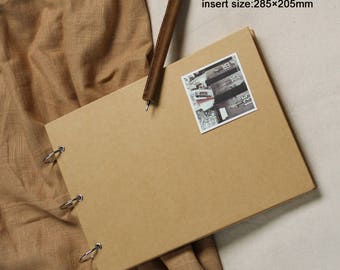 120 Pages Scrapbook book,sketch book,Hand-painted book,Notepad